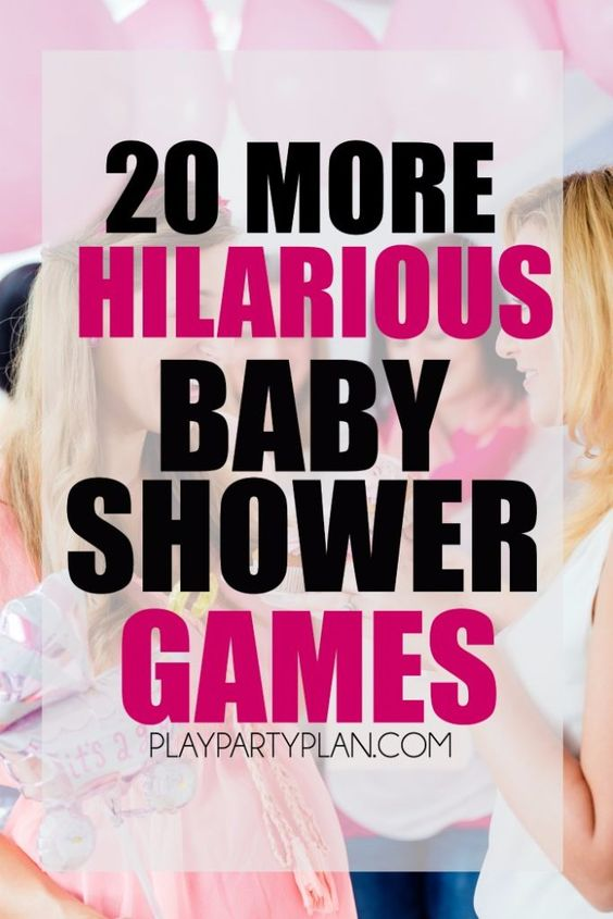 hilarious baby shower games with everything from active baby shower