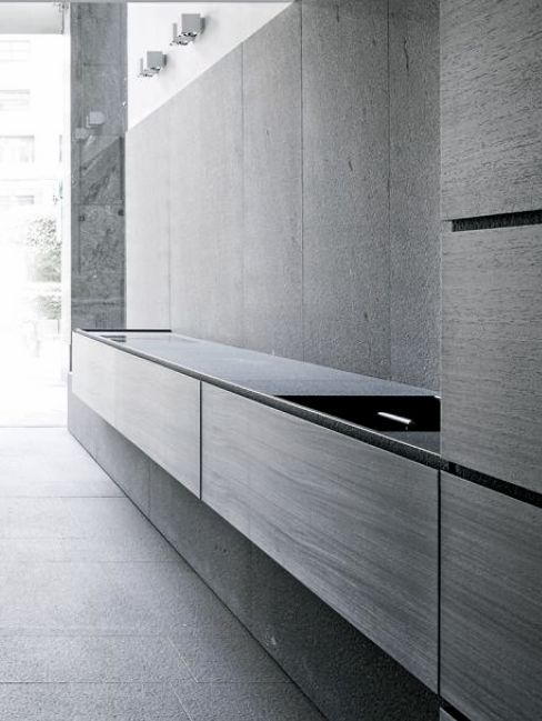 Design cabinets and design interiors on pinterest for Minotti cucine