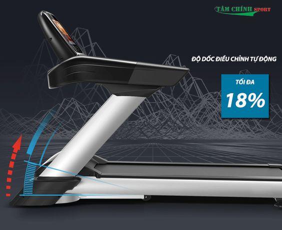 Điều chỉnh độ dốc tự động trên máy chạy bộ điện HQ-888