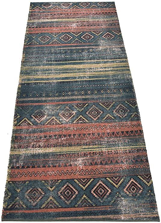 Custom Runner Antique Vintage Look Distressed Southwestern Tribal Design Runner Rug 35 Inch Wide X Your Length In 2020 Custom Runners Antique Collection Tribal Design