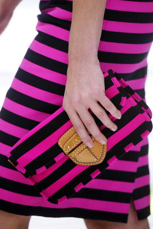 """PRADA""   striped runway fashion in details | Keep the Glamour | BeStayBeautiful"