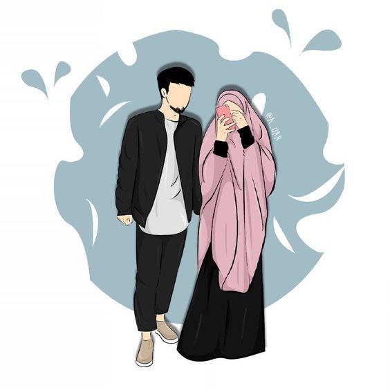 Kumpulan Gambar Kartun Muslimah 13