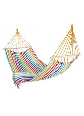 kimara hammock from marimekko. it would be so nice to have this set up in the backyard. mom could relax and read a book while admiring her garden