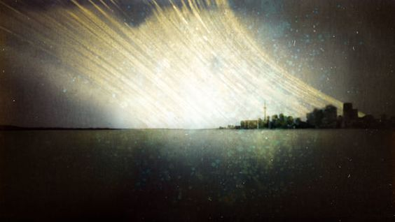 A year-long exposure of the Toronto skyline by Michael Chrisman