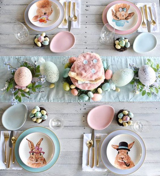 "Hippity Hoppity Happy Easter Brunch Bunny Party Instant Download Printable PDF 5""x7"", Tabletop Sign,"