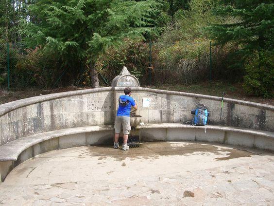 Fuente de Santa Irene, La Coruña, Camino de Santiago