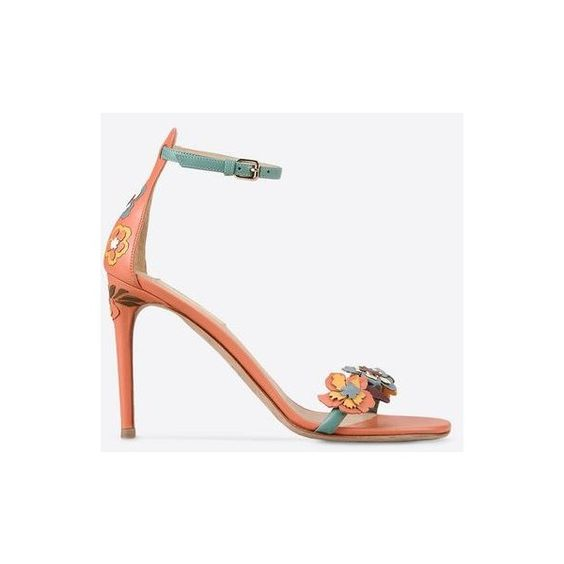 Valentino Hawaiian Couture Sandal (€1.130) ❤ liked on Polyvore featuring shoes, sandals, valentino shoes, hawaiian shoes, hawaiian sandals, couture shoes and hawaiian print shoes