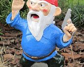 Combat Garden Gnomes-perfect gift for Peter