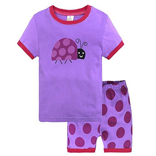 Kid Baby Boy Summer Clothes Pajamas Sets Tops Shorts Sleepwear Nightwear T Shirt