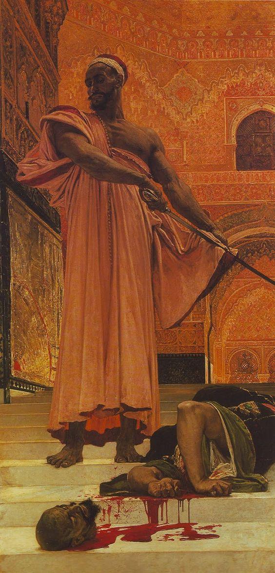 Exécution sans jugement sous les rois maures de Grenade by Henri Regnault, (1843 - 1871)