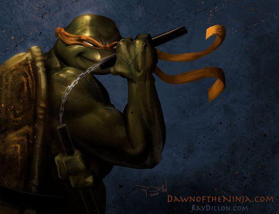 TMNT - Michelangelo concept by ~RayDillon on deviantART