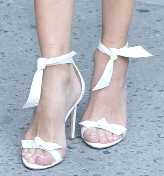 Diane Kruger in Alexandre Birman sandals