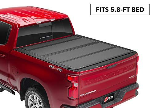 Bak Bakflip Mx4 Hard Folding Truck Bed Tonneau Cover 448130 Fits 2019 20 New Body Style Gm Silverado Sierra Tonneau Cover Truck Tonneau Covers Truck Bed