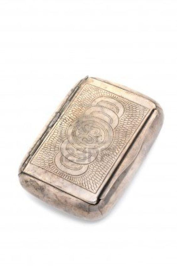 antique silver cases
