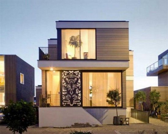 Exceptional Exterior Designs Of Small Houses With Beautiful Concept ... | Exterior House  Design | Pinterest | Smallest House, Small House Exteriors And Exterior  Design