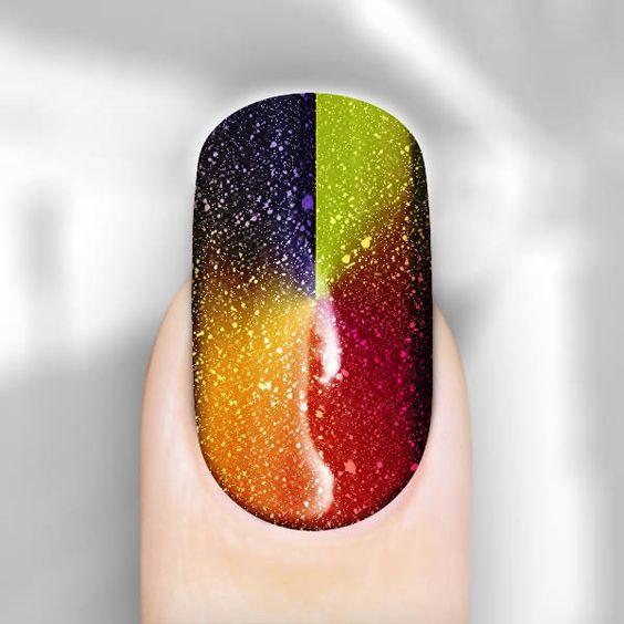 Sparkling Santa Monica Los Angeles Nail Art Nail Wraps