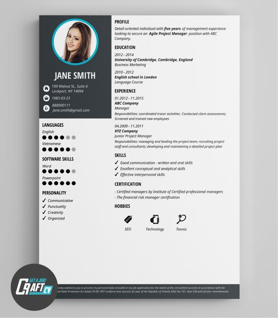 modern cv exle original cv layout resume templates
