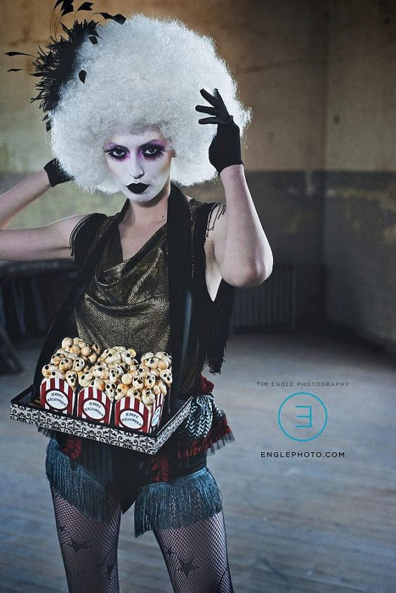 Dark Carnival Costume by AtomicStitches on Etsy, $185.00