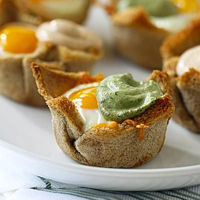 Llegó el desayuno de #Elmenudeldia hoy: Niditos de Huevo, Jamón y Queso http://ow.ly/3xdX6O