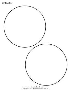 Free Circle Stencil Template Circle Template Stencil Template Circle