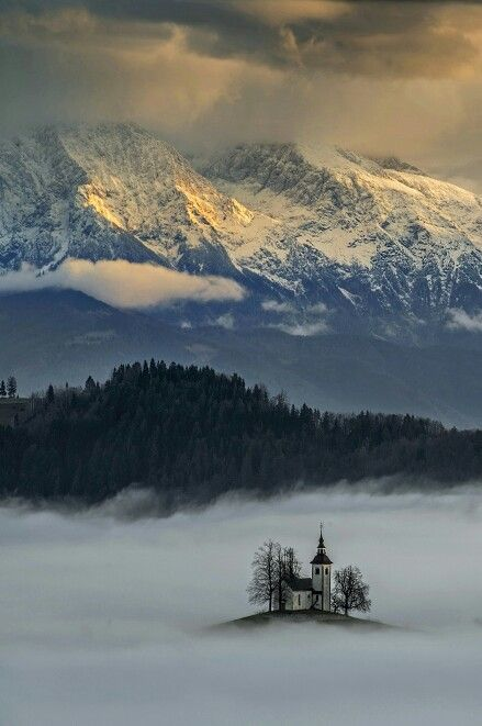 Church St.Tomaz in Slovenia by Azman Miro