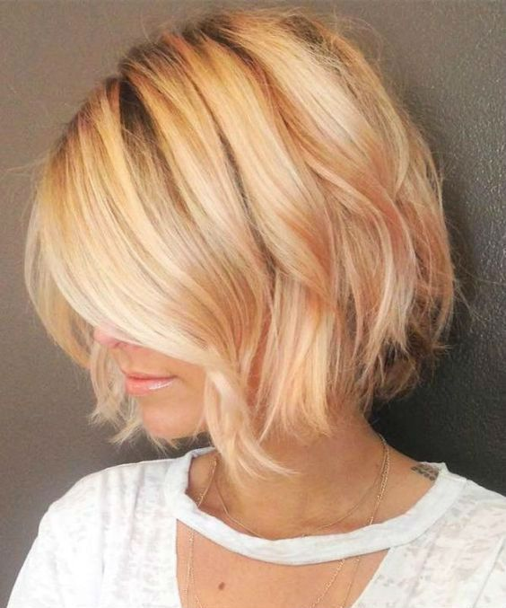 New Elegant Short Bob Hairstyles 2019 For Women To Look Hot And Trendy Hair And Comb Hair Styles Thick Hair Styles Short Thin Hair