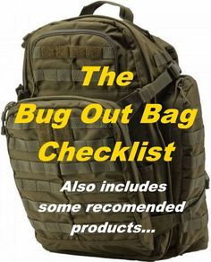 The ultimate bug out bag list, complete with advice on what to pack in your bug out bag, together with recommendations on which specific items to choose.