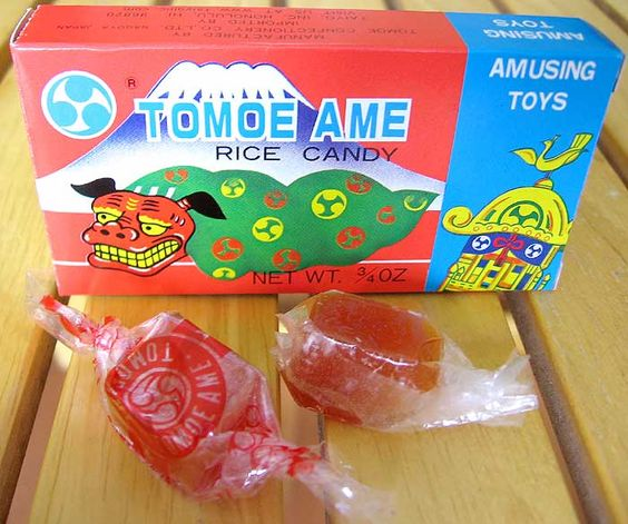 Has anyone ever seen candy wrappers made from clear rice paper?