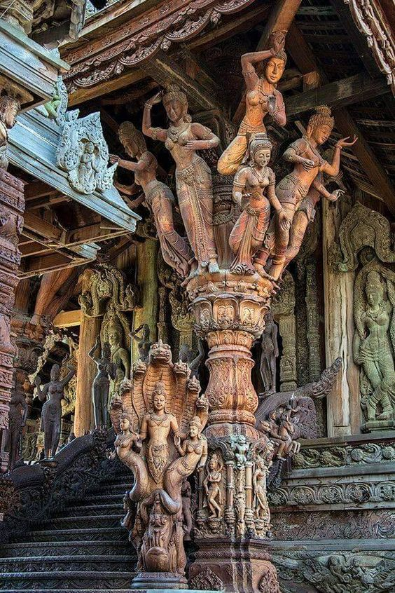 Temple of Truth, Thailand Kala Ksetram