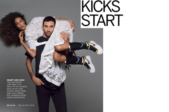 See the Riccardo Tisci for Nike Shoe Collaboration