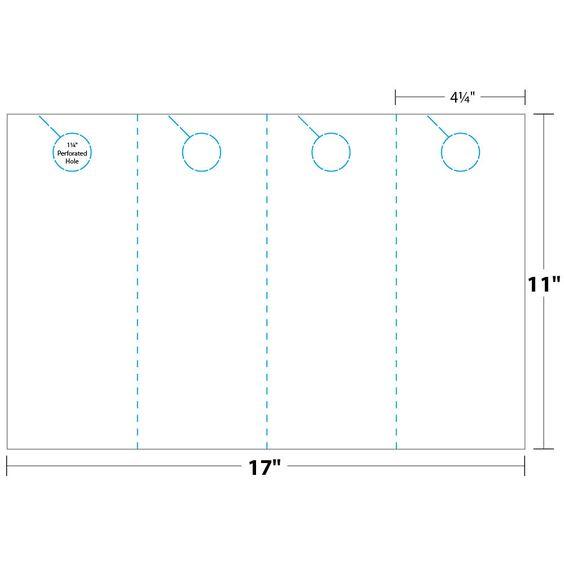 door hanger template for publisher