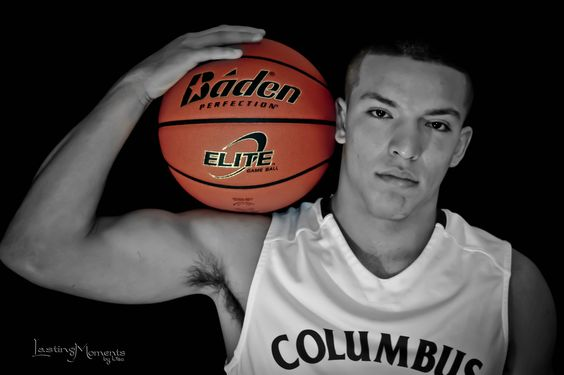 Senior Pictures, basketball