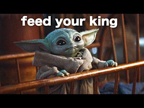 Baby Yoda Being Adorable With More Subtitles Youtube Funny Star Wars Memes Yoda Funny Star Wars Memes