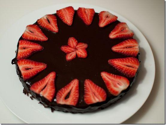 Chocolate cake-Japanese style