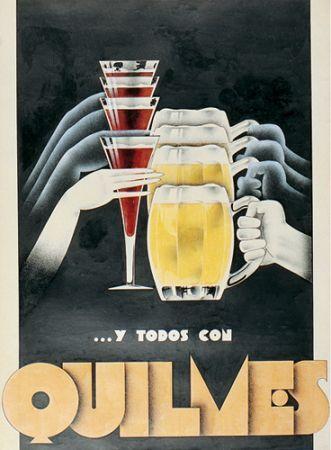 beer Quilmes beers - Artist Falcucci