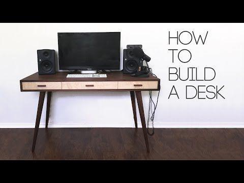 54 Diy Mid Century Modern Desk How To Modern Builds Ep 61 Youtube Woodworkingplansmidcent Diy Desk Plans Woodworking Desk Plans Computer Desk Plans