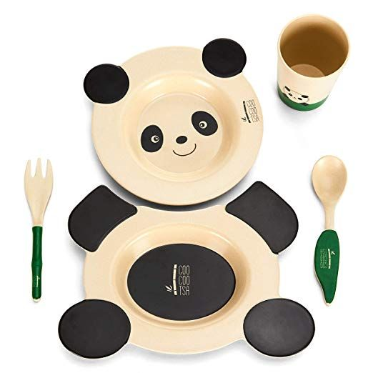For All The Panda Lovers With Kids Great Gift Idea So Cute Panda Panda Panda Cute Plate Set Baby Pl Kids Dinner Sets Ideal Baby Shower Gifts Dinnerware Set