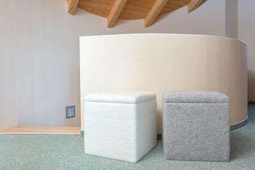 Climacube Der Wohlfuhl Sitzwurfel 40x40x40cm Einfarbig