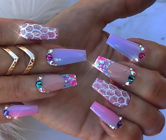 Pin By Lucynailedem On Nails In 2020 3d Acrylic Nails 3d Nail Designs 3d Nail Art Designs