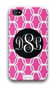 Lattice Hot Pink mycustomcase.com