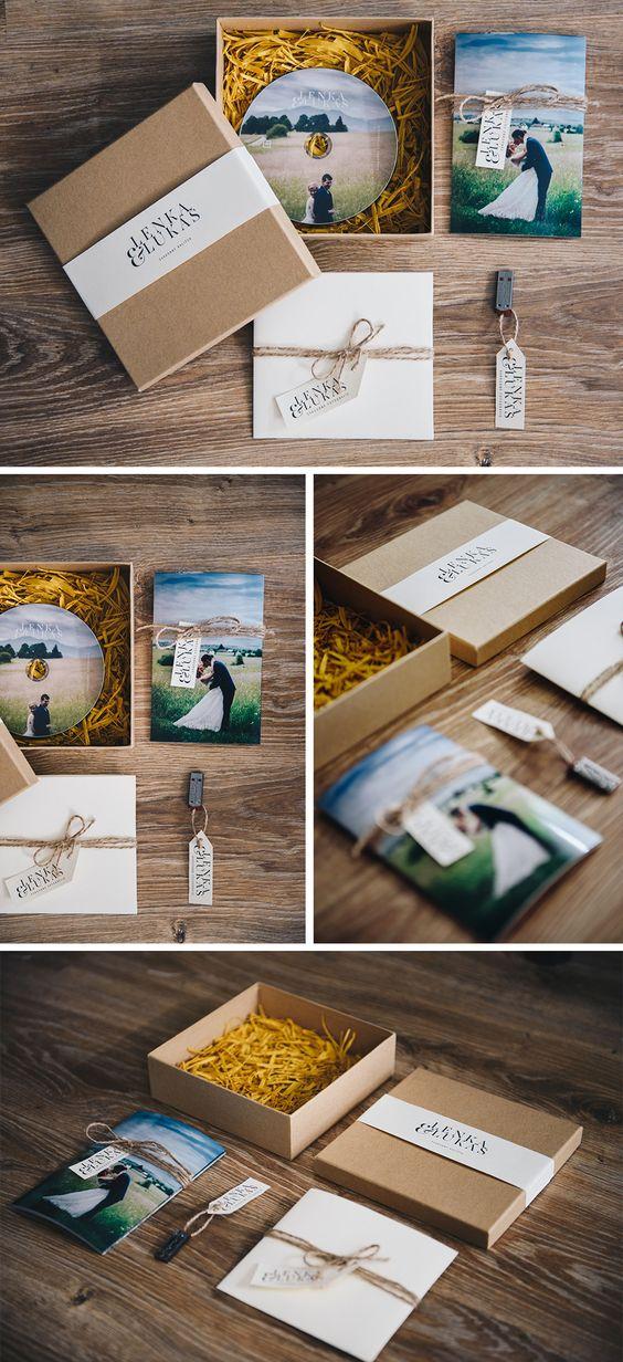 Caixas Minimalistas para presente de padrinhos de casamento