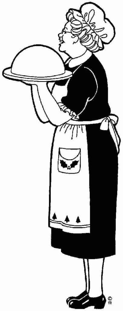 img/dessins-cliparts hommes femmes enfants/mamy-serveuse.jpg