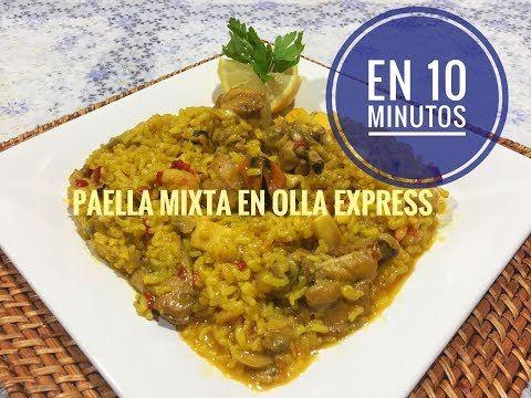 Youtube Olla Express Paella Olla