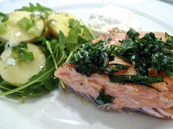 Potato Salad & Horseradish Yogurt (SIRIously delicious)   Potato salad ...