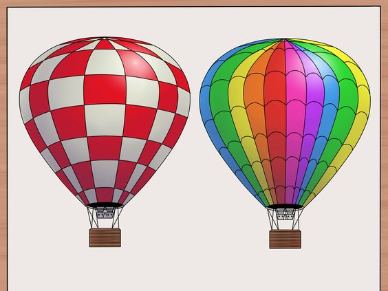 How to Draw a Hot Air Balloon -- via wikiHow.com