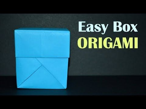 Paper Box - How To Make A Box from Paper That Opens And Closes ... | 360x480