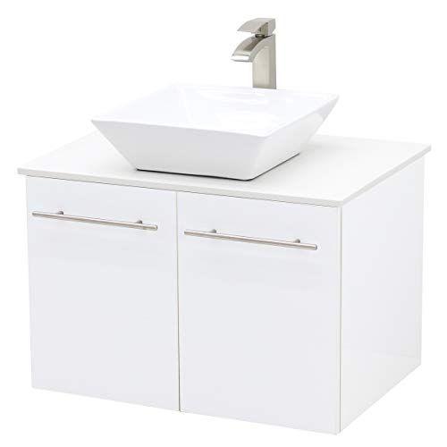 vanity sink floating bathroom vanity