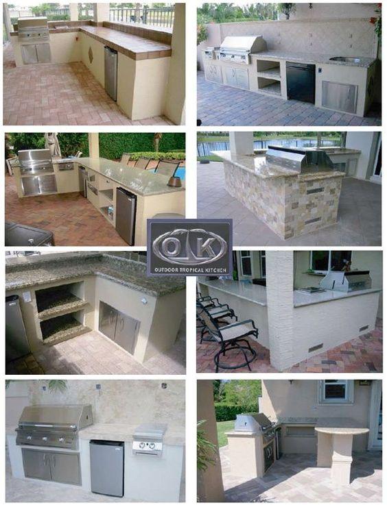Backyard Kitchen Design: Http://fashionablehomes.net/outdoor