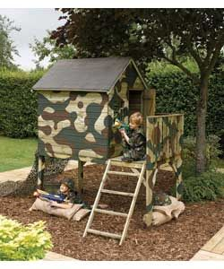 army playhouses for kids | Images via jasonbrooks , californiademocrat , random-good-stuff )
