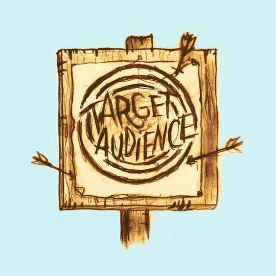 Target Audience- The group of people at whom advertisements are aimed target market A specific group of customers on whom an organization focuses its marketing efforts